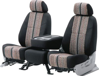 A classic look updated with Neotex sides. Ultrasturdy heavy-duty polyester construction lasts for years. Added foam provides additional cushioning. Easy to install for a custom fit. A great choice for vehicles that see a lot of work and recreational use. Made in USA. Colors: Wine, Blue, Tan, Black. Color: Black. Type: Seat Covers. - $179.99