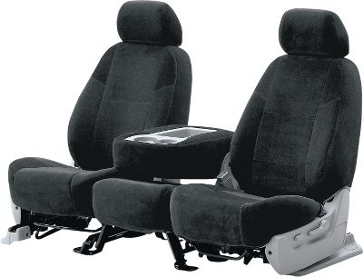 A plush covering thats ideal for luxury vehicles. With several colors to choose from, youre sure to find one to perfectly complement your vehicles interior. Because it doesnt stretch, velour takes longer to install but the results are well worth the extra effort. Colors: Blue, Taupe, Gray, Charcoal, Tan, Black, Beige (not shown). Color: Charcoal. Type: Seat Covers. - $199.99