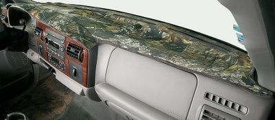 Hunting Keep your dash protected from harmful UV rays, while adding a touch of outdoor flair at the same time. Polyester/cotton camo with a tough face and a soft, cushioned backing. Edges are wrapped with black binding to eliminate fraying. Custom-cut and sewn, to fit the dash of your hunting rig or everyday vehicle. Cut outs accommodate vents, glove box, console and instrument panel. There are even cut outs to access your passenger-side utility tray. Doesnt interfere with airbags. Camo patterns: Camo, Mossy Oak Break-Up, Mossy Oak Break-Up Infinity, Mossy Oak Treestand. Color: Camo. Type: Custom Fit Dash Covers. - $49.99