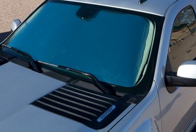 Unlike universal shades that dont fit precisely and still let in the suns rays, these are custom-cut to precisely fit your windshield. The tri-laminated material incorporates high-density foam between two layers of Mylar for maximum heat and UV reflection. The integrated frame holds it securely to the windshield. Plus, it will retain its rigidity even after being rolled up countless times. - $34.99
