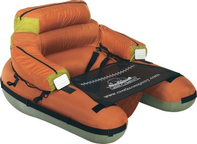Fishing Heavy-duty, 14-gauge PVC main bladder and separate backrest bladder are covered in durable 420-denier nylon. Patented tension straps maintain a true open front. Two side storage pockets. Stripping apron with measuring tape. D-rings for gear attachment. Rod-holder straps.Weight: 7 lbs.Weight capacity: 275 lbs. - $89.88