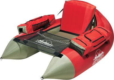Fishing At only 7 lbs., this is the float tube with hike-to-your-honeyhole convenience. The adjustable and super-thick air seats back and bottom increase flotation so much; youre literally lifted higher out of the water. Crafted with durable 14-gauge PVC bladders with high-volume Boston valves. Equipped with a lightweight, protective 420-denier nylon cover. For onboard gear organization, use the large side storage pockets and a generous rear storage area. D-rings are placed for the use of pack straps (not included) for easier packing to remote locations. Includes carry bag. Imported.Weight capacity: 300 lbs.Overall approximate weight: 8.75 lbs. - $179.88
