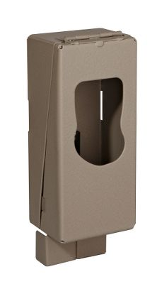 Hunting CuddeSafe is a heavy-duty metal enclosure made specifically to house your Cuddeback scouting camera. CuddeSafe will protect your camera from bears, thieves, vandals and the elements! CuddeSafe is easy to install with a lag bolt and locks with a padlock (not included). It features a flange that protects the padlock from bolt cutters. - $39.99