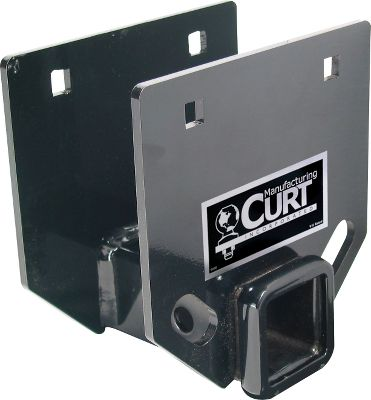Fitness Mount accessories such as bike racks and cargo carriers to the rear of your RV or towable camper using this bumper hitch. It's made to fit on the 4 square channel bumpers, has a maximum gross-towing-weight rating of 3,500 lbs. and a tongue-weight rating of 350 lbs. The hitch is V-5 rated and tested. Mounting hardware and a spacer bushing are included. It has Evergloss black powder-coat finish and safety chain hookups (always consult your vehicle owners manual for hitch ratings). Accepts 2 hitch bars. Color: Black. - $59.99