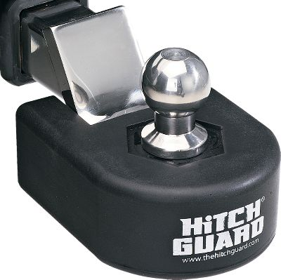 If you've ever smacked your shin on your hitch, this is the product for you. The Hitch Guard forms a protective barrier around your hitch, preventing scrapes, bruises and cuts normally caused by banging your legs on the hitch. It's soft to the touch, yet durable. Made in USA. - $9.88
