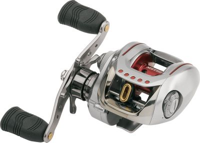 Fishing A workhorse baitcaster with a low-profile, compact frame and one of the fastest line retrieves available. Choose from an ultrafast 7.1:1 or a 6.3:1 retrieve ratio. The SHA models pull in an amazing 31.6 inches of line with every crank of the handle with winding power to spare. Both models boast six ball bearings plus a roller bearing. The exclusive swept handle is closer to the rod's center allowing for efficient retrieves with less wobble. Free-floating, perforated aluminum spool starts faster and spins longer giving you superior casting results. Magforce-Z automatic anti-backlash system applies brakes to the spool as it reaches maximum speed, and is adjustable to match your fishing skills. Eight-disc wet drag with precision click adjustment. Aluminum guard plate protects finish on top of reel. Rigid aluminum frame and handle-side sideplate firmly support the drivetrain. Soft-touch grips. - $289.88