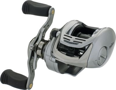 Fishing When you need a reel that is going to give you a new level of smoothness, power and performance, the new Exceler is the reel for you. Eight ball bearings plus one roller bearing. With the Magforce-Z automatic, magnetic anti-backlash system, you can cast all day into winds that would normally cause backlashes. Machined-cast control cap. Infinite anti-reverse. Rugged six-point drivetrain. High-speed 6.3:1 and 7.1:1 gear ratios to pick from. Weight (oz.): 8.8. Type: Casting Reels. Reel Model: EXC100H. Line Capacity (yds./lb. test): 150/12. Gear Ratio: 6.3:1. Bearings: 8+1. Reel Exc100h. - $49.88