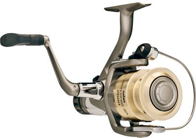 Fishing With the superior performance and rear-drag convenience the budget-conscious angler is looking for, this reel is a winner. It offers a smooth, ball-bearing drive, reverse-tapered ABS aluminum spool, graphite body and rotor, advanced locomotive levelwind, Gyro Spin balanced rotor, and Twist Buster line roller at a price thats hard to beat. Type: Spinning Reels. - $19.99