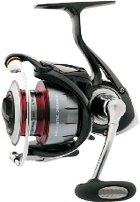Fishing Built to weather the extremes of both fresh- or saltwater fishing, Ballistic spinning reels are constructed of lightweight, corrosion-resistant Zaion Carbon that rivals magnesium for strength and rigidity. Add a sealed drag and body, seven ball bearings, four are corrosion-resistant (CRBB), and lightweight Air Rotor for enhanced strength and the Ballistic is ready to perform. The Air Rotors unique shape reduces weight while evenly distributing stress. The tubular AirBail is super strong yet light in weight, and has no protrusions to snag line. High-speed 6.0:1 retrieve. Machine-cut aluminum handle arm. Digigear, digital designed and cut gearing. Waterproof drag with click adjustment. A two ball-bearing spool support keeps drag washers in perfect alignment. Oiled felt body seal. ABS aluminum spool. - $179.88
