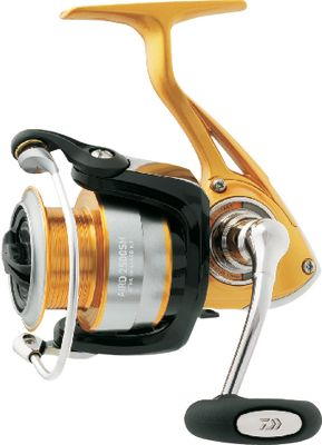Fishing A popular reel that delivers outstanding performance at a price that makes it a great value. Cutting-edge Digigear and Air Bail technology team with a lightweight composite body and machine-cut handle to deliver smooth operation and fish-fighting power. 2000 and 2500 reels come with a spare aluminum alternate-size spool for greater line choices. Weight (oz.): 7.4. Type: Spinning Reels. Reel Model: AIRD1000SH. Max. Drag (lbs.): 4.4. Line Recovery Inches/Turn: 25.1. Line Capacity (yds./lb. test): 120/4. Gear Ratio: 5.2:1. Bearings: 9+1. Reel Aird 1000. - $69.88