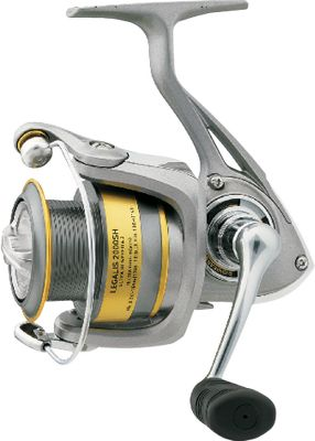Fishing Some of Daiwas most popular features come together in this reel. Optimized for high-speed retrieves and tangle reduction, it sports a lightweight composite body and lifetime bail spring. Microclick front drag adjustment. Aluminum ABS II spool. Type: Spinning Reels. - $53.88