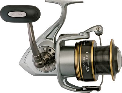 Fishing Smooth-cranking bluewater performance geared for overpowering big saltwater game. Computer-machined DigiGear high-strength gears thrive under pressure. Twist Buster 2 prevents line fouling with an oversized Titanium Nitride ball-bearing line roller. Dual, full-time anti-reverse for solid hooksets. Smooth-running six-ball-bearing system (one corrosion-resistant ball bearing) plus a roller bearing. Manual bail trip with rotor brake. (Model 5000, 6000, 6500) Corrosion-resistant all-metal construction and machined-aluminum handle. - $119.88