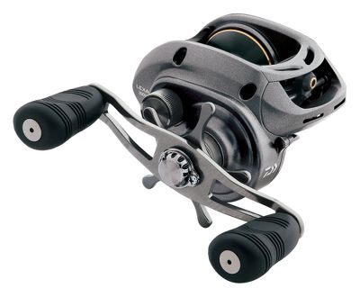 Fishing With seven bearings (two CRBB + four BB + one RB), Daiwas Lexa 300 Baitcasting Reel delivers smooth performance with a rugged, five-point drivetrain system. Two retrieve ratio options prove indispensable when fishing with higher line capacities. Precision-balanced aluminum frame and ultrastrong sideplates provide strength without added weight and are durable for years of fishing. Magforce cast control teams with infinite anti-reverse for long, trouble-free casts and rock-solid hooksets. With every crank, the reel takes in up to 32 of line ideal for triggering jig strikes from fast-swimming predators. Right- and left-hand models. Model LEXA300HS-P has a precision oversized, balance-swept power handle; all other models come with an oversized swept paddle handle. Lexa CC models feature a spool click for slow-trolling live baits or conventional trolling applications and centrifugal cast control. Type: Casting Reels. - $199.99