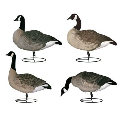 Hunting Fully flocked for best-in-class realism, these decoys boast all the Dakota-proven features and durability of the originals. Six-pack includes three standard feeders, two actives (one short, one curved) and one sentry. You also get a custom-fitted six-slot bag that lets you store and carry your six-pack with the Wind Walker bases attached. Imported. - $349.99