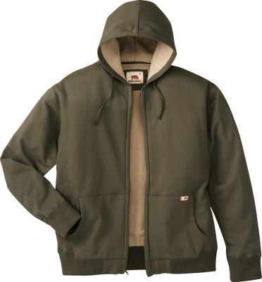 Camp and Hike Dakota Grizzlys Mens Tacoma Cotton-Fleece Zip Hoodie hardworking hoodie thats built for tough conditions on the job, in camp or anywhere you need reliable warmth. Zip it up and the warmth-trapping Sherpa-fleece lining locks in warmth. Imported. Sizes: M-2XL. Colors: Java, Moss, Navy, Graphite. Dakota Grizzly Style No.: 76830. Size: LARGE. Color: Java. Gender: Male. Age Group: Adult. - $55.00