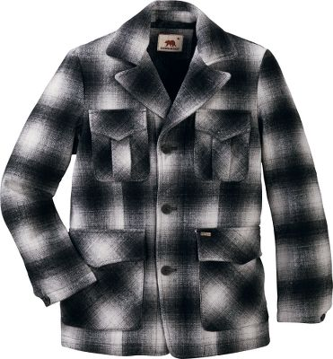 Vintage-looking, wool-blend CPO blazer is sharp-looking and delivers serious warmth. Dual-entry lower pockets provide easily accessible storage, or a place to warm hands. 60/40 wool/polyester with nylon lining. Machine washable. Imported.Sizes: M-2XL.Color: Ash Plaid. - $39.88