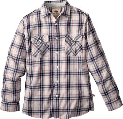 Camp and Hike Put on the classic style of plaid, and youre ready to hike, camp or go to town. Double-faced and super-soft, this lightweight Dakata Grizzly Brewer Long-Sleeve Shirt is crafted out of 100% cotton gauze. Inner stripe pattern adds contrast when the sleeves are rolled up. Imported.Sizes: M-2XL.Colors: Cola, Oat, Citrus, Mango.Dakota Grizzly Style No.: 10565. Size: XL. Color: Citrus. Gender: Male. Age Group: Adult. Pattern: Plaid. Material: Cotton. - $17.88
