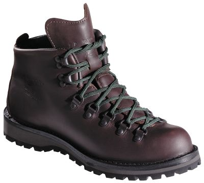Camp and Hike No frills, here just comfort, traction and legendary Danner reliability. Features include waterproof, full-grain leather uppers; durable, stable stitch-down construction; Swiss-fold gussets; waterproof, breathable GORE-TEX; Cambrelle moisture-wicking linings; airthotic footbeds; rubber/polyurethane midsoles with cushioned insoles and fiberglass shanks. The Vibram 148 Kletterlift outsoles provide a reliable combination of traction and stability. Height: 5. Average weight: 3.9 lbs./pair. Mens sizes: 7-15 medium width; 6-13 wide width. Half sizes to 12. Colors: Brown, Black. Size: 9.5. Color: Brown. Gender: Male. Age Group: Adult. Material: Leather. - $349.99