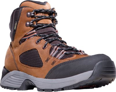 Camp and Hike These hikers are comfortable enough to wear as weekend boots, but dont let the comfort and athletic fit fool you. On the mountain, they can hold their own. Features include tough, triple-stitched seams and protective plates to keep the bottoms of your feet safe and secure. Underneath, the Cloud Cap is outfitted with Danner Trailguard outsoles for a solid grip on a range of terrains. 100% waterproof, breathable GORE-TEX liners are engineered to keep your feet dry and comfortable even in extreme conditions. Nubuck and breathable nylon uppers offer lightweight protection and some of the best abrasion and scuff resistance of all of our leather options. EVA dual-density platforms provide lightweight athletic performance with maximum support and cushioning on the trails. Abrasion-resistant toes for protection in high-wear areas. A synergy heel system optimizes a responsive fit by locking the heels into the pockets for a lower volume fit. Danner Trailguard outsoles feature unique acceleration and braking zones combined with traditional lug patterns in the center for superior traction on varied surfaces. Co-Molded ESS plate for underfoot protection and stability. Imported. Height: 6. Average weight: 42 oz./pair. Mens sizes: 7-14 D and EE widths. Half sizes to 12. Colors: Brown, Grey. Size: 9 1/2. Color: Brown. Gender: Male. Age Group: Adult. Pattern: Solid. Material: Nylon. Type: Hikers. - $149.99