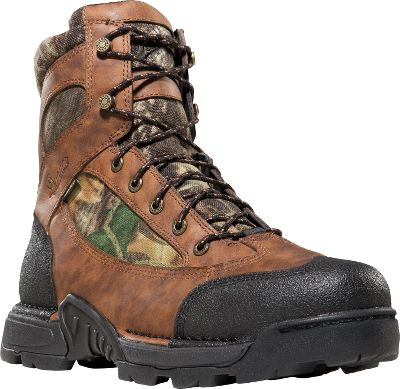 "Hunting Danner took the outstanding performance of its renowned Pronghorn hunting boots and added new technical features and updated their look. Incredibly rugged and scuffproof black Tech-Tuff toes and heels guard vulnerable areas against wilderness hazards. Advanced stability and support are afforded by Terra-Force platforms. Waterproof and breathable GORE-TEX linings keep feet dry. Fatigue-Fighter footbeds deliver outstanding arch support. Ground-gripping Mountain Goat TF outsoles. Imported. Height: 6""Average weight: 3.4 lbs./pair. Men's sizes: 8-14 D width; 8-13 EE width. Half sizes to 12. Camo pattern: Mossy Oak New Break-Up . - $84.88"
