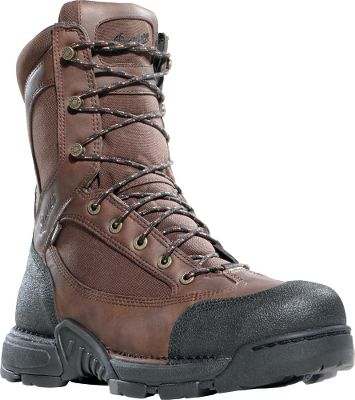 Hunting Danner took the outstanding performance of its renowned Pronghorn hunting boots and added new technical features and updated their look. Incredibly rugged and scuffproof black Tech-Tuff toes and heels guard vulnerable areas against wilderness hazards. Advanced stability and support are afforded by Terra-Force platforms. Waterproof and breathable GORE-TEX linings keep feet dry. Fatigue-Fighter footbeds deliver outstanding arch support. Ground-gripping Mountain Goat TF outsoles. Imported. Height: 8 Average weight: 3.6 lbs./pair. Mens sizes: 8-14 D width; 8-14 EE width. Half sizes to 12. Color: Brown. Size: 10.5. Color: Brown. Gender: Male. Age Group: Adult. Type: Uninsulated Hunting Boots. - $99.88