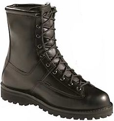 This all-leather, 8 boot offers great all-around support and stability and is approved by the U.S. Postal Service and Marine Corps. 200-gram Thinsulate insulation provides additional warmth in moderate climates or where changing weather patterns occur. GORE-TEX and moisture-wicking linings guarantee that your feet will remain 100% dry and comfortable. The traction-enhancing Vibram Kletterlift sole will provide years of active service. An included Airthotic insert provides outstanding support while promoting air circulation around the foot. Weight: 4 lbs. Mens sizes: 7-15 D width; 6-13 EE width. Half sizes to 12. Color: Black. Size: 6.5. Color: Black. Gender: Male. Age Group: Adult. Type: Boots. - $364.99