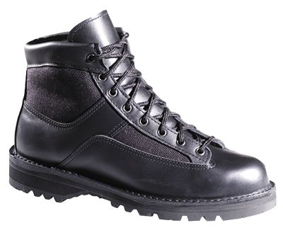 Perfect for the squad car or the chase. Features include 100% waterproof, breathable GORE-TEX, Danners stable stitchdown construction and Vibram 1276 Sierra outsoles. Easy-to-polish full-grain leather/1,000- denier nylon uppers. Height: 6. Average weight: 4 lbs./pair. Womens sizes: 5-10 medium width, half sizes to 10. Color: Black. Size: 5. Color: Black. Gender: Female. Age Group: Adult. Material: Leather. Type: Boots. - $339.99