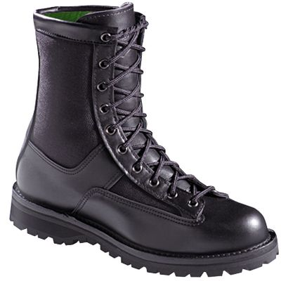 The perfect uniform boots for mild-to-cool climates. They feature Danners famous stable, durable stitchdown construction. They also feature 400-gram Thinsulate Ultra Insulation; waterproof, breathable GORE-TEX; full-grain leather/1,000-denier nylon uppers and scuffproof toe caps. Vibram Kletterlift outsoles. Height: 8. Average weight: 4.43 lbs./pair. Mens sizes: 8-13 narrow width, half sizes to 12; 7-15 medium width, half sizes to 12; 6-13 wide width, half sizes to 12. Color: Black. Size: 12. Color: Black. Gender: Male. Age Group: Adult. Material: Leather. Type: Boots. - $359.99
