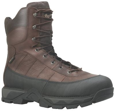 "The Vandal has both athletic styling and work-boot functionality. Lightweight and cushioned with a Danner Vandal Vibramoutsole and a Terra Forceplatform for a lightweight feel. GORE-TEXlining provides waterproof, breathable convenience, and an abrasion-resistant rand keeps the antique Rio leather upper looking good for durability. Add in the 600-gram ThinsulateUltra Insulation, the padded collar, flexible toe, Fatigue Fighter footbed and Achilles pad for comfort, and you may never want to stop working with these boots on. Imported. Height: 8"". Average weight: 3.8 lbs. per pair. Men's sizes: 7-14 D; 8-13 EE widths. Half sizes to 12.Color: Brown. Size: 11. Color: Brown. Gender: Male. Age Group: Adult. Material: Leather. Type: Work Boots. - $209.99"
