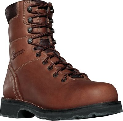 No-nonsense boots that are built to a higher standard. Richly tanned, full-grain leather uppers feature triple-stitched seams and handcrafted stitchdown construction for tough-as-nails durability and premium underfoot stability. The uppers are backed by 100% waterproof, breathable GORE-TEX linings to keep feet dry. Fatigue Fighter footbeds cushion each step for all-day comfort. Wear-resistant Vibram Duralogical outsoles absorb ground shock, shed debris and provide all-surface traction. Alloy safety toes are lighter than steel and meet or exceed ASTM F2413-05 M I/75 C/75 EH standards. Electrical hazard protection. Imported. Mens sizes: 7-15 D and EE widths. Half sizes to 12. Color: Brown. Size: 7.5. Color: Brown. Gender: Male. Age Group: Adult. Material: Leather. Type: Work Boots. - $199.99