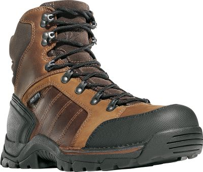 Balance, stability and maneuverability built into waterproof, hardworking boots. Durable, waterproof full-grain leather and nubuck uppers are stitched down to a wider, Terra Force X2 platform that provides extra-light, sure-footed stability. 100% waterproof, breathable GORE-TEX linings protect your feet against the elements. Fatigue Fighter footbeds with memory foam inserts extend comfort during long hours on the job. Polyurethane midsoles and an extra layer of EVA foam in the forefeet deliver cushioned comfort. Abrasion-resistant toes and heels add extra wear-resistant durability. Oil- and slip-resistant outsoles boast low-profile 90 heels for protection against arch overwork and fatigue. Molded heel counters and speed lace fastening system lock feet securely in place. Durable nylon shanks. Imported. Height: 6. Average weight: 3 lbs. 3 oz./pair Mens sizes: 7-14 D and EE widths. Half sizes to 12. Color: Brown. - $189.99