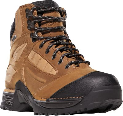 Camp and Hike Athletic shoe performance in a women's hiking boot built to withstand harsh environments. Full-grain leather uppers combine comfort and protection, while the fully waterproof and breathable GORE-TEX linings keep feet dry while maintaining breathability. Scuff-proof toe caps provide protection where boots tend to show wear. Patented Terra Force support system with Approach TFX outsoles provide sure-footed traction, heel-to-toe energy transfer, enhanced maneuverability and protection from foot fatigue. Imported.Height: 6 . Weight: 2 lbs. 8 oz./pair.Women's sizes: 5-10 medium width. Half sizes to 10.Color: Brown. - $184.99