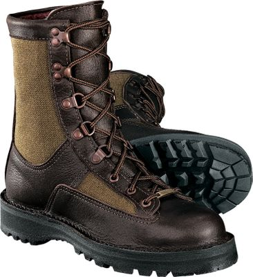 "Hunting Crafted with all the legendary outdoor performance Danner is famous for, the Sierra for women ensures the versatility, toughness and performance required for hunting. Tough full-grain leather/1,000-denier Cordura&reg uppers reliably resist wear and abrasion, while a 100% waterproof, breathable GORE-TEX&reg bootie and moisture-wicking lining keep feet dry. 200-gram Thinsulate insulation. Self-cleaning Vibram Sierra outsole. Made in USA.Height: 9"".Weight: 3.8 lbs. per pair.Women's sizes: 6-10 medium width. Half sizes to 10.Color: Brown. - $329.99"