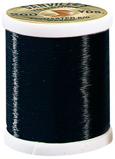 Flyfishing The perfect thread for spinning hair bugs and flies because you can really torque it down without breaking. Also great for tying large streamers. Length: 200 yards. Colors: Black, Red, White, Olive. Color: White. Type: Threads. - $4.29