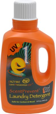 Hunting This detergent is safe on wool, carbon, cotton, polyester and other common camo fabrics. Nanozyme technology helps control odors, unclogs carbon molecules and imparts a UV inhibitor. Carbon-suit friendly. Sizes: 12 oz., 20 oz., 32 oz. Size: 20 OZ. Color: Camo. Gender: Male. Age Group: Adult. Type: Detergents. - $8.49