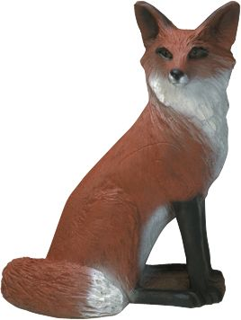 Hunting This fox target lets you refine your shooting before the season begins. These targets are designed with a new flexible, self-closing foam that can withstand the pounding from heavy compound bows and will stop even the fastest carbon arrows.Features IBO-approved scoring rings. Fox target is 18 in length and 23 in height. Type: 3-D Targets. - $79.99