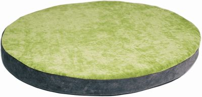Hunting Your dog deserves a comfortable super-floppable bed to satisfy a natural craving for reassurance and warmth. This bed is custom made of high-quality foam with a washable, soft microfiber cover. Its green apple on one side and steel grey on the other and fits perfectly into a BowHaus dog bed end table. Measures 19.5L x 19.5W x 1.5H and is a good fit for dogs under 20 lbs. Imported. Color: Natural. - $99.99