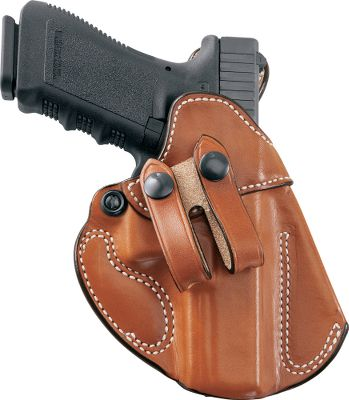 DeSantis finely crafted, unlined-leather Cozy Partner Inside-the-Waistband Holster features precise molding that secures your handgun with a like-custom fit and offers easy, one-hand re-holstering. Snap-on split belt loop accommodates belts up to 1.75 (not included). Right hand only. Made in USA. - $69.99