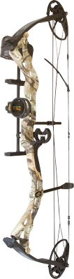 Hunting Diamond Archery offers a complete line of bows A great bow with enough adjustment for small-frame shooters to continue using through adulthood. Custom tune the Infinite Edge bow without the use of a bow press. An adjustable draw length from 13 to 30, and an adjustable draw weight from 5-70 lbs. make this bow ideal for target shooters and hunters of all sizes. Left- and right-handed models available. Camo pattern: Mossy Oak Break-Up Infinity. Diamond Archery Infinite Edge Bow Package includes: bow, three-pin TruGlo Apex sight, Hostage XL Arrow Rest, Octane DeadLock Lite quiver, Tube peep sight, BCY string loop. Color: Camo. Type: Bow Packages. - $339.99