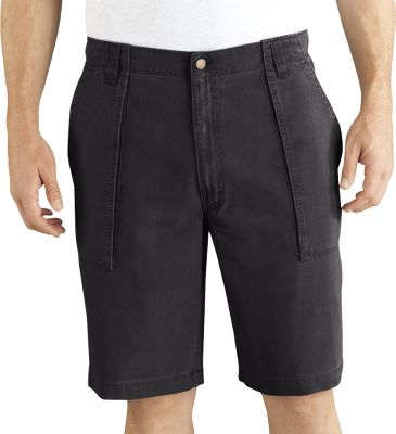 Hunting Casual-wearing, ultracomfortable shorts for everyday wear. Bellowed front and back pockets provide ample storage for essentials. Pad Ox, 8-oz. 100% cotton canvas shell is durable, yet soft to the touch. Imported.Inseam length: 11.Even waist sizes: 30-44.Colors: Black, Black Olive, Brown Duck, Graphite. - $29.99