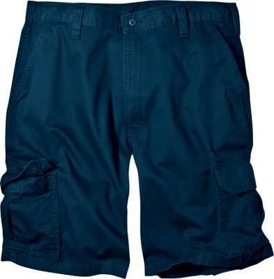 Entertainment Perfect for summertime fun and relaxation, these soft and lightweight shorts are a joy to wear all day. Theyre crafted of 8.5-oz. 100% cotton twill thats garment-washed for an extra-soft, broken-in feel from day one. Cut in a loose fit for free movement. Pleated cargo pockets for carrying essentials. Casual waistband. Machine washable. Imported. Inseam: 10. Waist sizes: 30-48. Colors: Khaki, Dark Navy. Size: 32. Color: Khaki. Gender: Male. Age Group: Adult. Material: Cotton. Type: Shorts. - $29.99