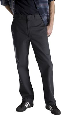 Entertainment Leave the wrinkles behind and get to work on time. Wrinkle- and stain-resistant pants boast distinctive tunnel belt loops, two back pockets and an extra pocket on the leg. Regular fit. Rugged, 65/35 polyester/cotton twill blend. Imported. Inseams: 30, 32. Even waist sizes: 30-42. Inseam: 34. Even waist sizes: 32-36. Colors: Black, Dark Navy, Khaki. Size: 40. Color: Khaki. Gender: Male. Age Group: Adult. Material: Twill. Type: Pants. - $27.99