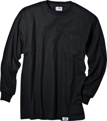 Entertainment Made of heavyweight 5.5-oz. 100% cotton, this long-sleeve tee boasts a relaxed-fit for comfort and taped neck and shoulder seams for long-wearing durability. Large chest pocket. Tagless. Preshrunk. Imported.Sizes: M-3XL.Colors: Black, Dark Navy, Heather Gray, White. Type: Long-Sleeve Tee Shirts. Size: 2 X-Large. Color: Heather Gray. Size 2xl. Color Heather Gray. - $20.00