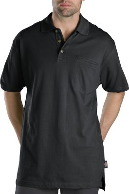 Entertainment Casual, relaxed-fit comfort meets rugged, moisture-wicking performance. Three-button placket is taped for long-wearing durability. Rib-knit collar. Droptail hem. Left chest pocket. Made of 6.8-oz. 100% cotton mini pique. Imported. Sizes: M-5XL. Colors: Amber, Black, Cadet Blue, Dark Navy, Deep Blue, English Red, Heather Gray, Olive Branch, White, Willow. Type: Polos. Size: X-Large. Color: Dark Navy. Size Xl. Color Dark Navy. - $27.00