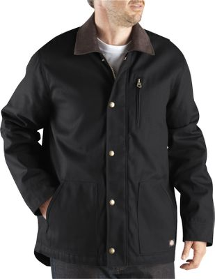 Hunting Ready for practically any cool-weather work, this rugged coat has a water-repellent 10-oz. cotton duck shell and a warm quilted-nylon lining with 6-oz. polyfill insulation. It has handwarmer pockets, a vertical zippered chest pocket and hidden rib-knit cuffs. Imported.Sizes: M-6XL.Colors: Black, Brown Duck, Black Olive, Dark Navy. - $64.99