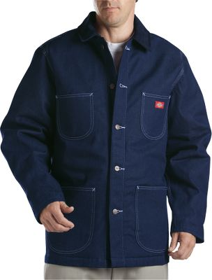 A full cut and extra length make it perfect for everyday winter wear. It has a warm acrylic/polyester blanket lining and a chill-blocking corduroy collar. The 11-3/4-oz. cotton-denim shell is triple-needle stitched for extra ruggedness. Five pockets, including an inside pocket. Imported. Sizes: M-5XL. Color: Indigo Blue. Size: X-Large. Color: Indigo Blue. Gender: Male. Age Group: Adult. Material: Polyester. Type: Coats. - $59.99