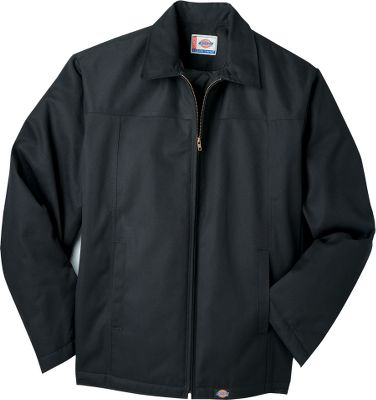 Guns and Military This hip-length favorite is a workforce standby, with double-stitched seams, a water-resistant 8-oz. 65/35 polyester/cotton shell and foam-insulated quilted-nylon lining. Full-zipper front. Front-seam pockets. Imported.Sizes: S-4XL.Colors: Black, Charcoal, Dark Navy. - $39.99