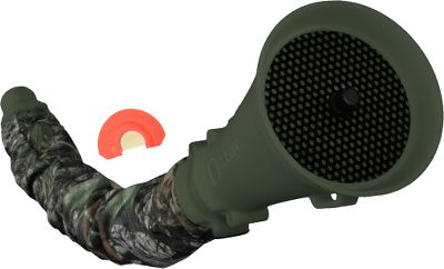 Hunting Control the volume of your bugle using this innovative bugle tube. Create the illusion of animal movement for a strategic advantage by quickly dialing up or down for more or less volume. Includes sound diffuser, camo sheath, mouthpiece cover, carry strap and The Single all-purpose diaphragm call. Color: Camo. - $23.88