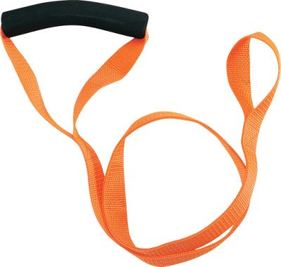 Hunting Simplify deer dragging and take pressure off your back on long hauls. Its convenient harness slides over a deers neck without tying. High-strength nylon webbing and a comfortable padded grip. Lightweight and compact for space-saving storage in a vest or pack. Imported. - $6.88