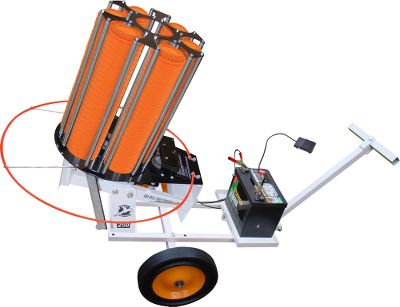 Auto and Cycle The White Pheasant Kit offers gun-club-quality performance and portability at a money-saving price. It includes the White Pheasant 250 Automatic Trap and a FREE Do-All Automatic Trap Limo for adding portable, wheel-anywhere convenience to a top-of-the-line Do-All thrower.Shoot longer without refilling targets and enjoy the benefits of a high-capacity automatic trap machine at a price much lower than competing models. The White Pheasant 250 Automatic Trap adjusts for launch elevations from 5 to 35 and throws targets out to 80-90 yards. Heavy-duty, powder-coated steel frame, strong steel legs and pivoting base ensure years of shooting enjoyment. The 250-target stack auto feeder delivers clay pigeons into an adjustable tray. A sturdy, aircraft-aluminum throwing arm ensures consistently smooth and stable target launches. The durable and quiet motor has a cycle time of 1.5-2 seconds. The unit is operated by a two-piece corded foot pedal with the option of using 5 ft. or 25 ft. of cord. Power comes from a 12-volt marine battery (not included) and the thrower will operate for up to 24 hours between battery charges. Dimensions: 21L x 20W x 38H. Weight: 80 lbs.The Do-All Trap Limo is the solution for making your Do-All automatic trap more portable and easy to move around. Pull your trap with an ATV, UTV, small tractor and even by hand. Specifically engineered to move all Do-All automatic traps with or without wobble kits, it even has a battery tray for quick hookup and convenient storage. Includes mounting-bolt pattern. Handles weights up to 200 lbs. - $899.99